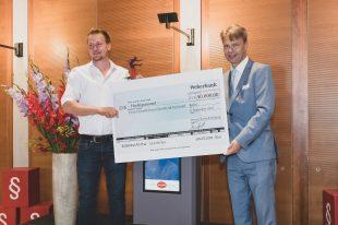 02.09.2021, Berlin. Verleihung des Werner-Bonhoff-Preises 2020 und 2021 in der Landesvertretung Mecklenburg-Vorpommern. Preistraeger 2020 Peer Sachteleben.
