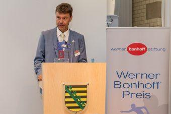 13.06.2018, Berlin. Verleihung des Werner-Bonhoff-Preises 2018 in der Vertretung des Freistaates Sachsen beim Bund. Till Bartelt.