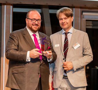 17.10.2019, Berlin. Verleihung des Werner-Bonhoff-Preises 2019 in der Landesvertretung NRW.