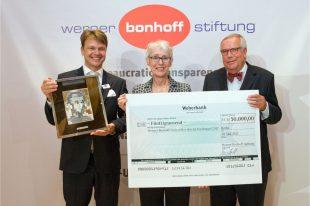 Berlin, 10. Mai 2012. Verleihung des Werner-Bonhoff-Preises in der Vertretung des Landes Brandenburg beim Bund.